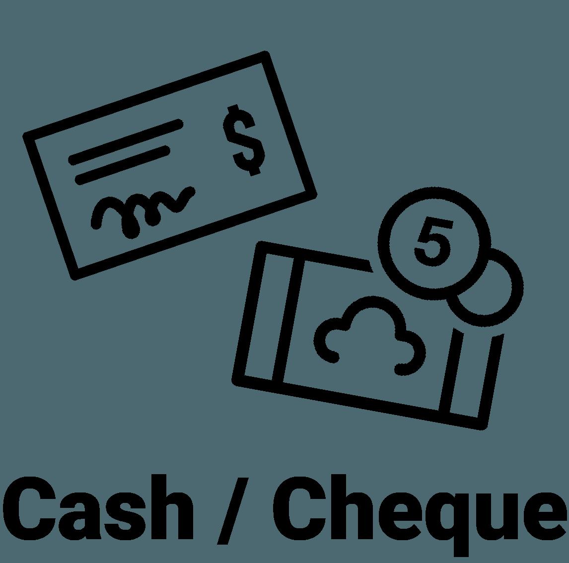 Cash/Cheque