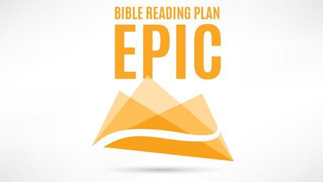 EPIC Bible Reading Paln