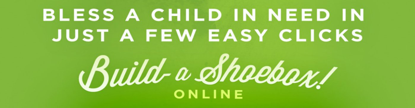 Build a shoebox online