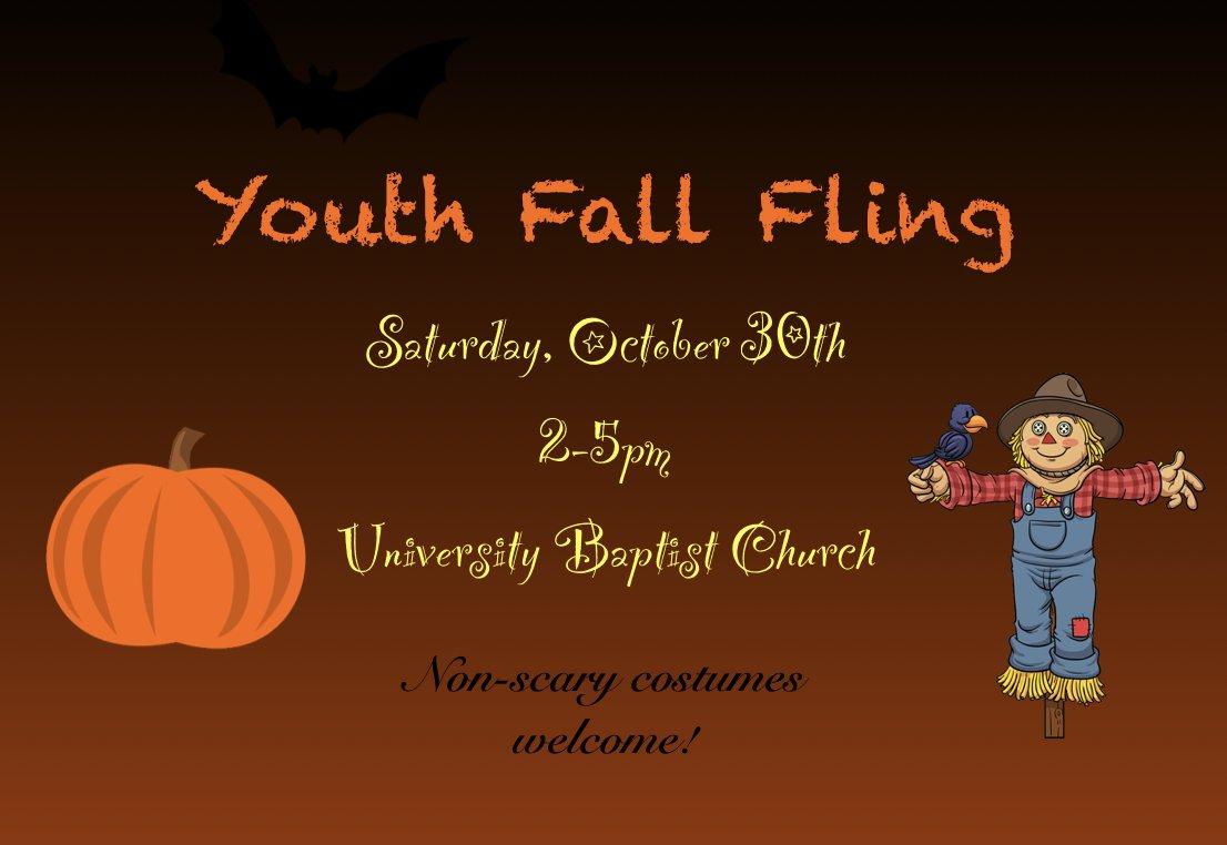 Youth Fall Fling