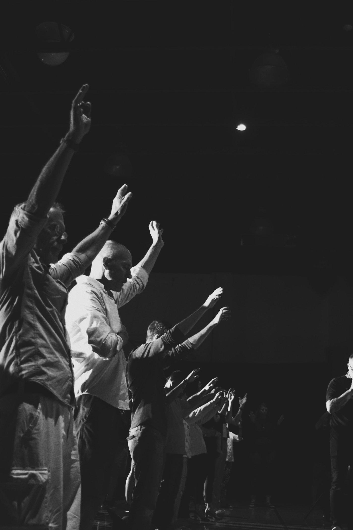 Church Community Worshiping in Reno