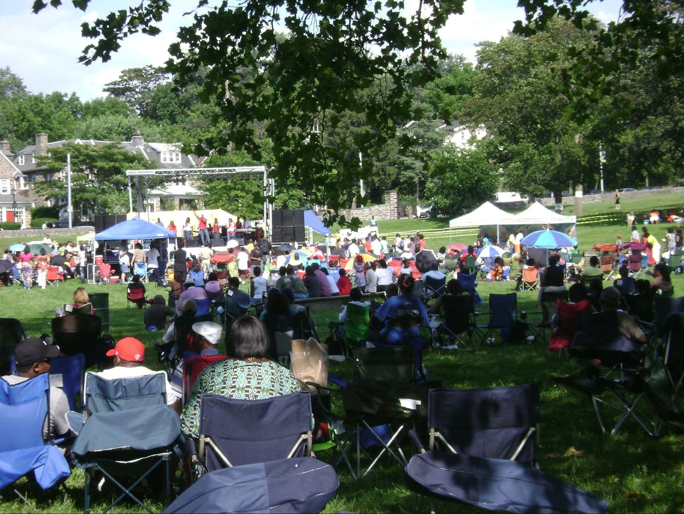 Gosepfest on the lawn of the New Covenant Church of Philadelphia
