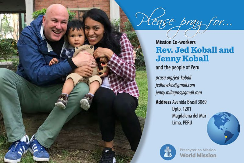 Jenny and Jed Koball