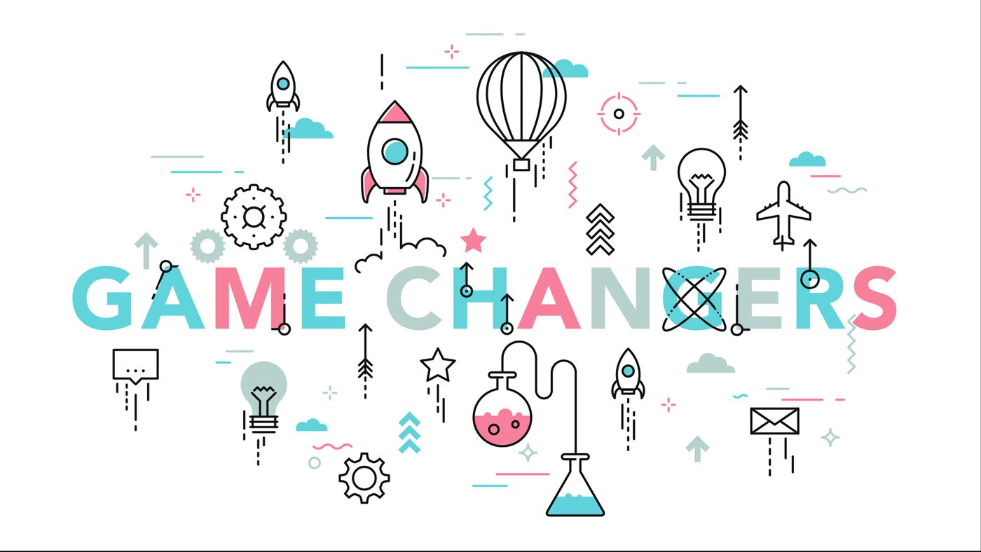 """New Teaching Series: """"GAME CHANGERS!"""""""