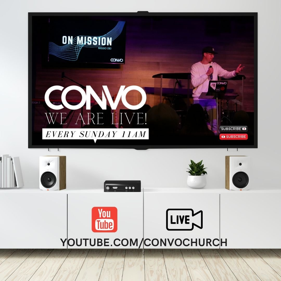 CONVO Church Online Campus, YouTube
