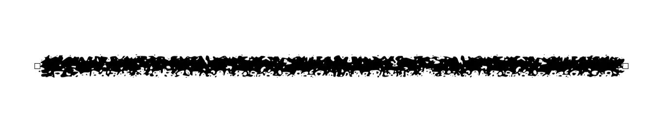 A line dividing two sections