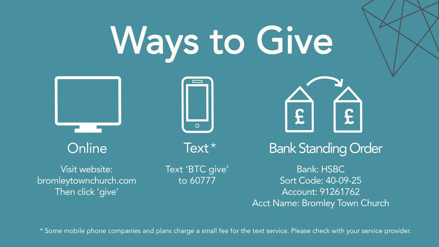BTC Ways to Give