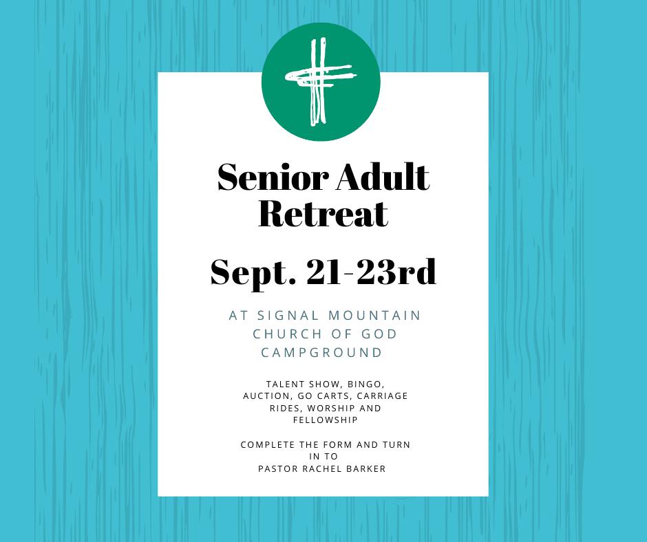 Senior Adult Retreat