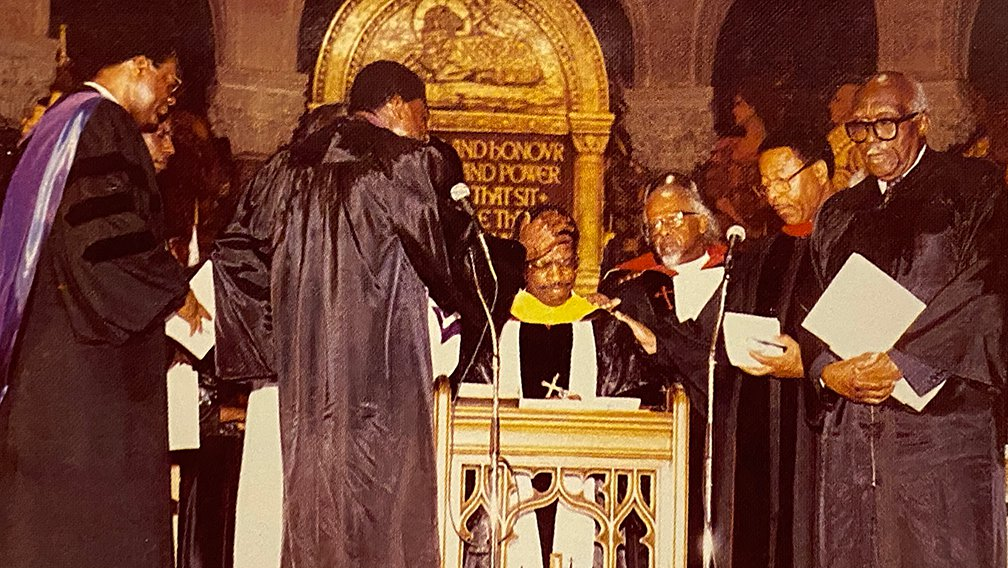 The Prayer of Consecration over Bishop C Milton Grannum, Founding Pastor, New Covenant Church of Philadelphia