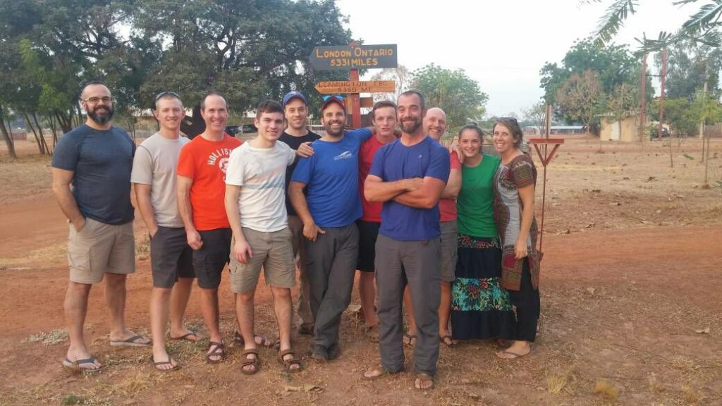 Our team in Togo, 2017