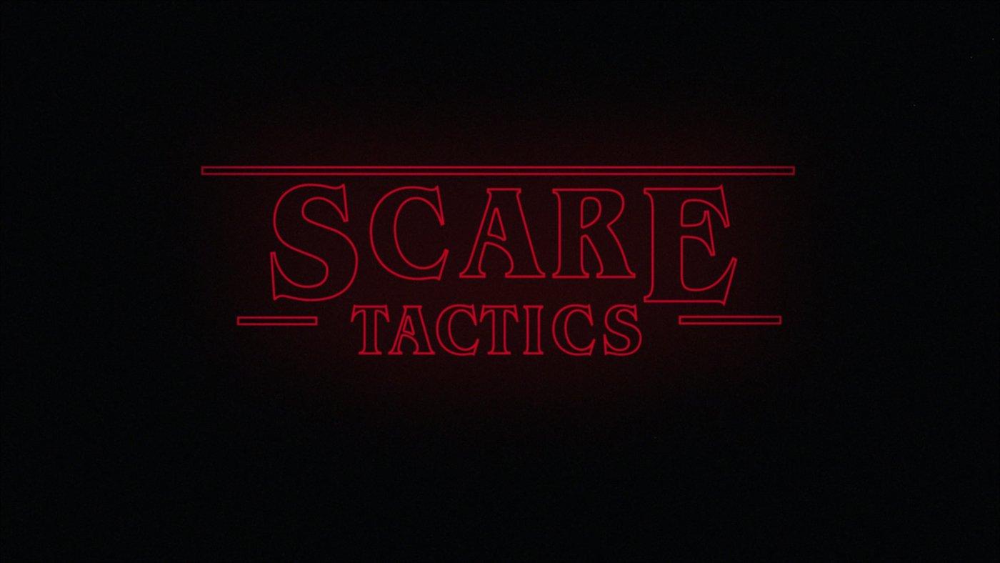 "New Teaching Series: ""SCARE TACTICS!""!"""