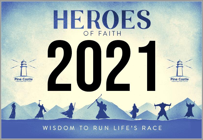 Heroes of the Faith Runner's Bib