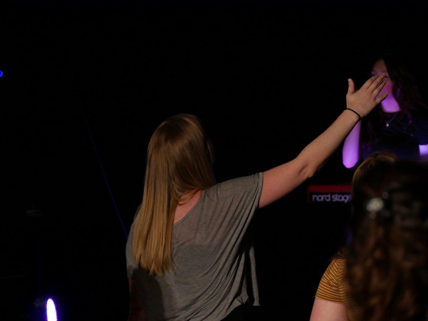 Faith Follower in Worship