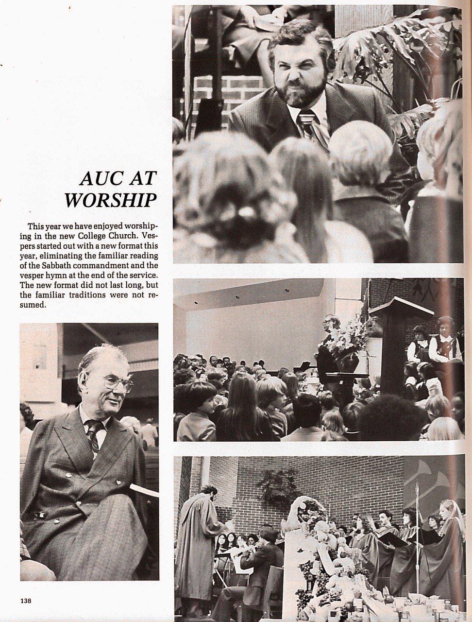 1982 AUC Minuteman, pg. 138