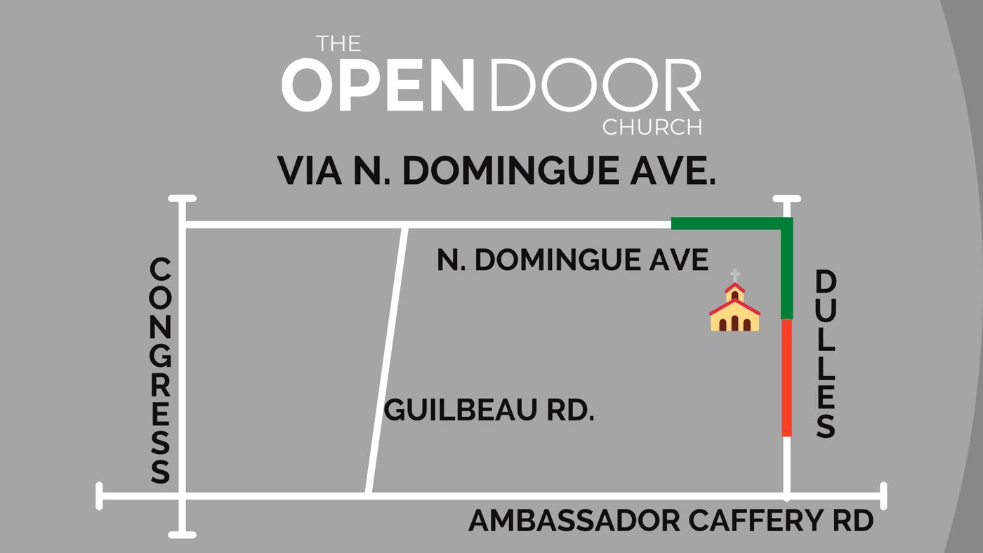 Detour Route to The Open Door