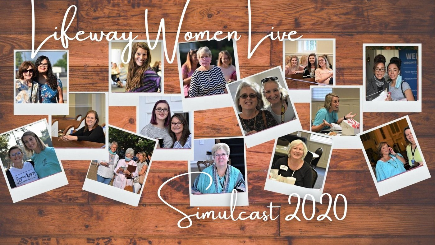 Lifeway Women Live Simulcast 2020 Pursuing Christ - Together First Baptist Church Perry Georgia