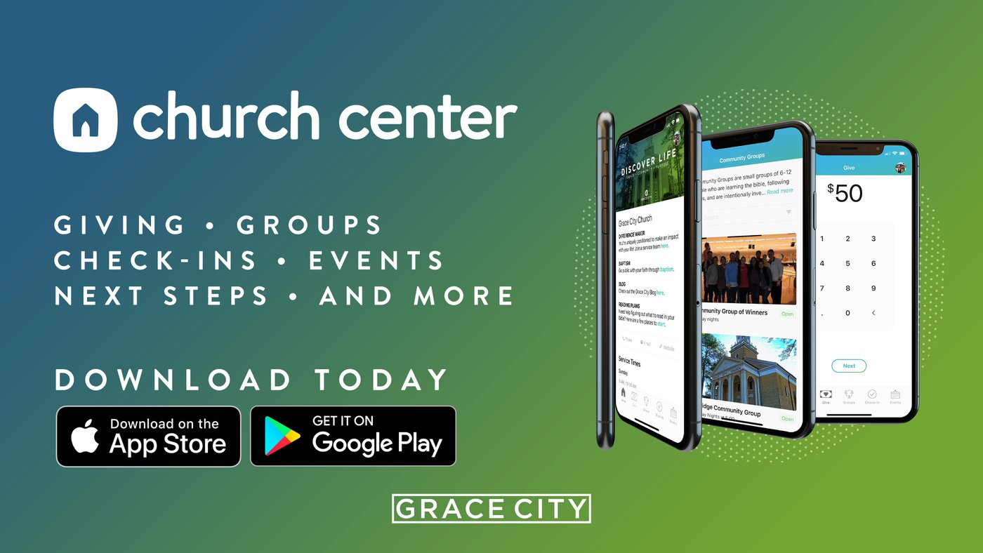 The Church Center App Grace City