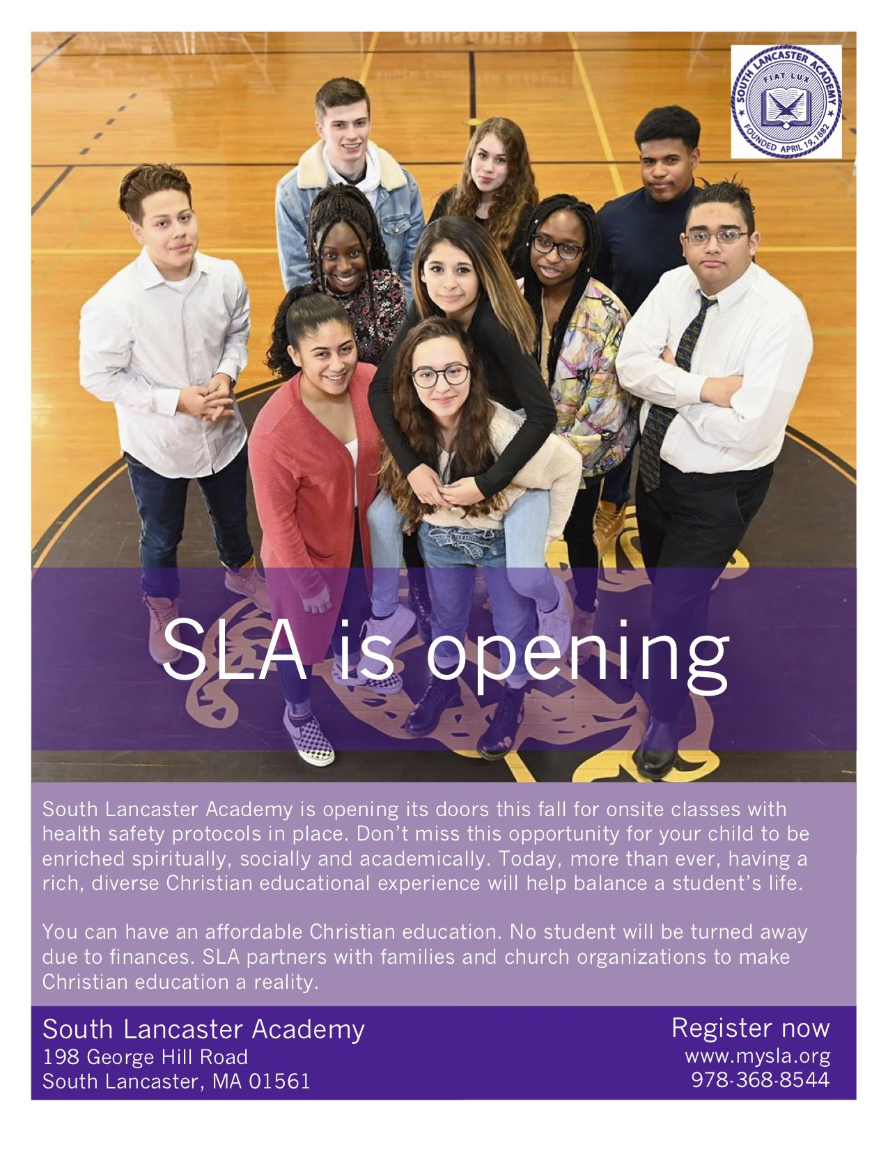 SLA re-opening image