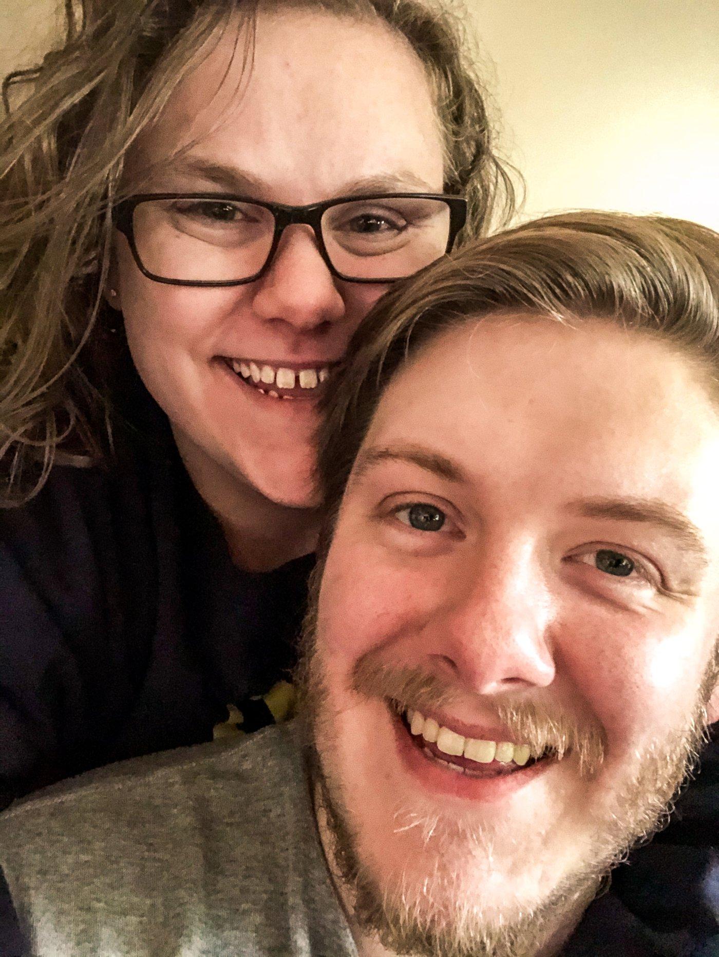 Daniel Shrimplin & his wife, Anne