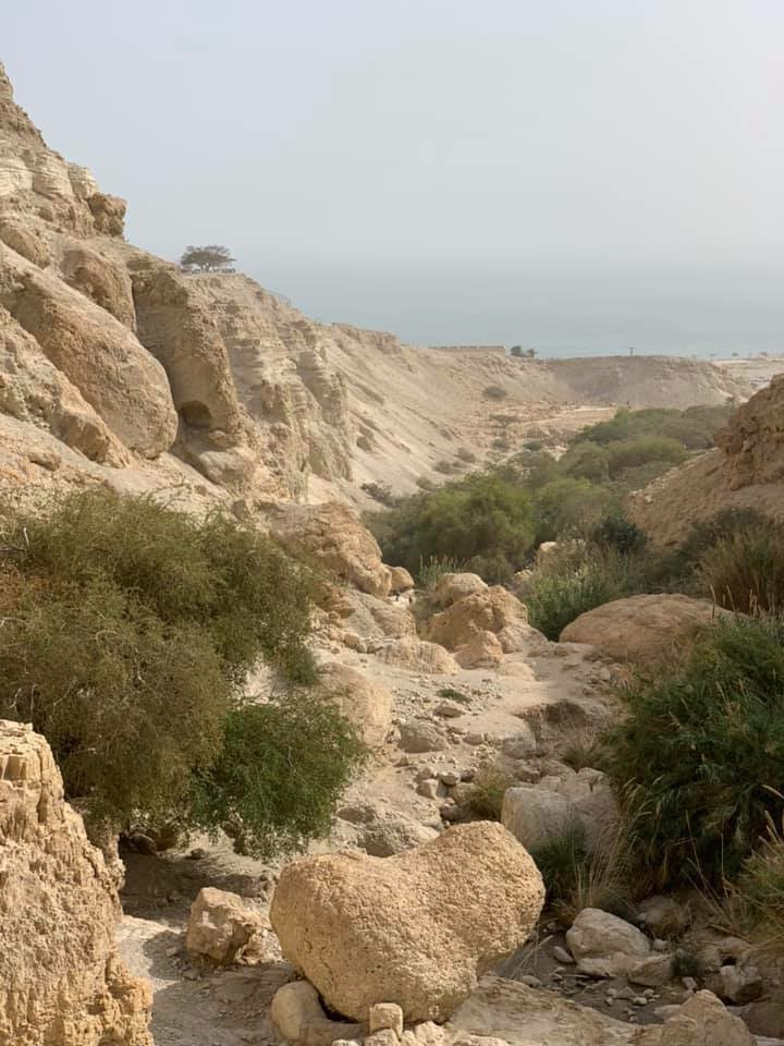 City of david jerusalem walls national park in israel stock image