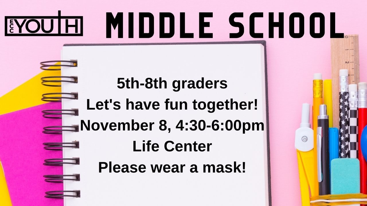Middle School Gathering