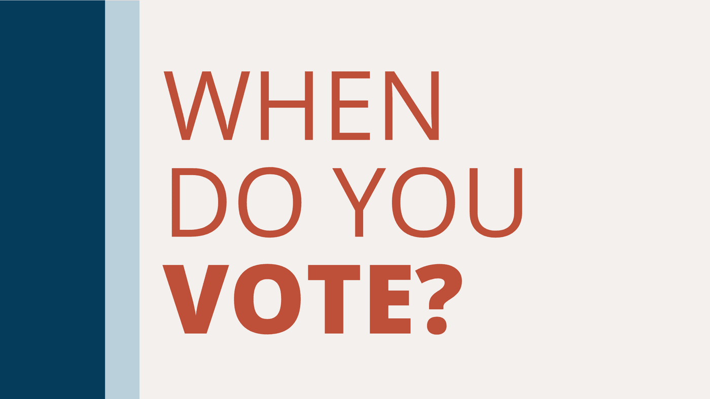 When do you vote in the 2020 Elections in Iowa?