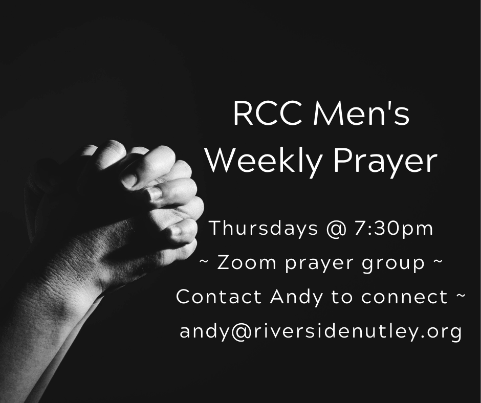 Men's Weekly Zoom Prayer