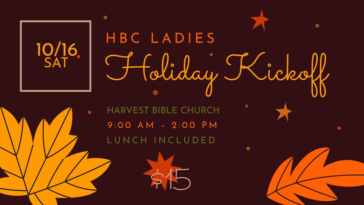 HBC Ladies Holiday Kickoff